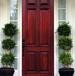 Upgraded Exterior Doors
